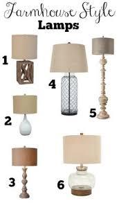 Farmhouse Style Lamps Under 50