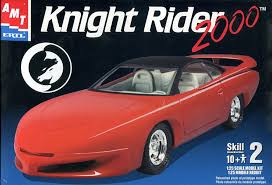Amazon.com: AMT Knight Rider 2000 Plastic Model Kit: Toys & Games
