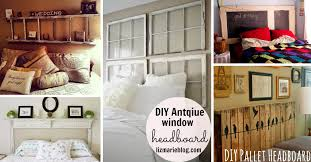 50 Outstanding DIY Headboard Ideas To Spice Up Your Bedroom Cute Projects