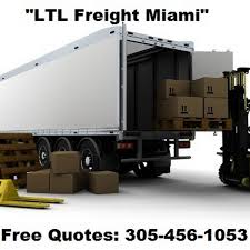LTL Freight Miami - Shipping Service In Miami