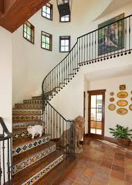 Texas Home Blends Spanish Style With Contemporary Comfort ... Banister Definition In Spanish Carkajanscom 32 Best Spanish Colonial Home Design Ideas Images On Pinterest Banisters Meaning Custom Stair Parts Mobile Stunning Curved 29 Staircase For Style Home 432 _ Architecture Decorative Risers With Designs For All Tastes The Diy Smart Saw A Map To Own Your Cnc Machine Being A Best 25 Wrought Iron Railings Ideas 12 Stair Railing Renovation