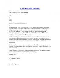 Termination Employment Letter Recruit line Affordable