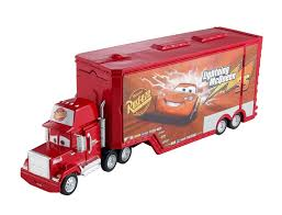 Disney Pixar Cars Transforming Car - Mack Transporter - Toys