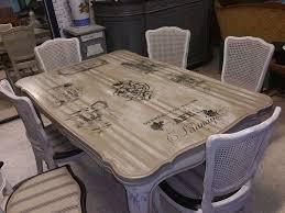 relooker une table de cuisine les tables et chaises