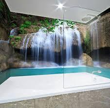 details zu 3d wasserfall 62 tapete badezimmer drucken abziehbild mauer deco aj wallpaper de