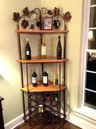Corner Wine Cabinet Bar Holder Best Rack Ideas On Pallet Racks