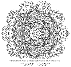 Fancy Mandala Coloring Pages Pdf 86 About Remodel Line Drawings With