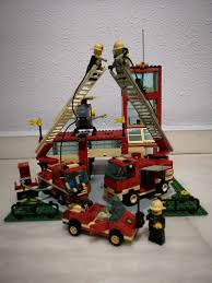 Lego Fire Station, Toys & Games, Bricks & Figurines On Carousell
