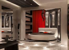 Trend Red And Black Bedroom Ideas On White Decor