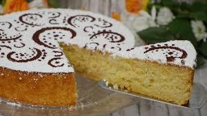 rezept italienische mandeltorte mit joghurt und zitrone i torta di mandorle con yogurt