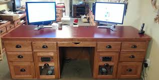 build computer desk plans plans diy how to make shiny91oap