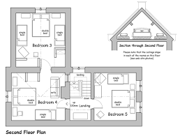Cottage Design Plans by Cottage Floor Plans Offcote Grange Cottage Holidays