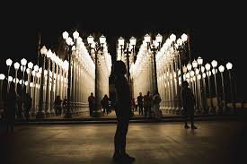 Lacma lights Picture of Los Angeles County Museum of Art Los