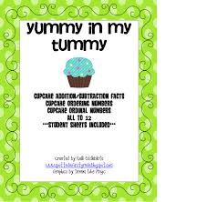 Spotted In First Grade Yummy My Tummy Cupcake Addition