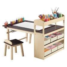 Step 2 Dx Art Master Activity Desk by Classic Playtime Pecan Deluxe Activity Table With Free Paper Roll