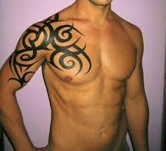 Tribal Tattoos For Guys Shoulder Chest Ideas Tattoo S