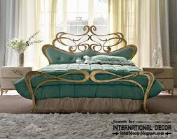 Wrought Iron King Headboard by Luxury Italian Wrought Iron Beds And Headboards 2015 Golden