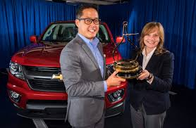 100 Motor Trend Truck Of The Year History MOTOR TREND Names North American Chevrolet Colorado Its 2015