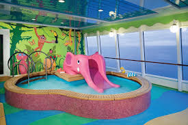 The Sapphire Childrens Pool Features An Elephant Shaped Slide And Paddling Designed Especially For Norwegian Jades Kiddie