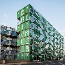 100 What Are Shipping Containers Made Of Container Apartment Building By LOTEK Rises In