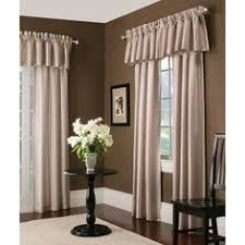 Allen Roth Raja Curtains by Style Selections Raja 84 In Mocha Polyester Rod Pocket Light
