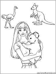 Australia Coloring Pages 67