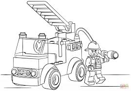 New Simple Fire Truck Coloring Page By Fire Truck Coloring Page ...