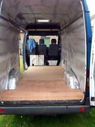 Cladding Plying The Interior Another Van Conversion