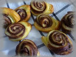 escarcots feuilletés au nutella la cuisine de framboisine
