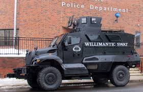 100 Swat Team Truck Grenade Launchers And Other Warfighting Equipment Militarizes CT Police
