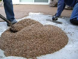 Laying A Pebble Patio