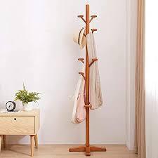 de holz garderobe garderobenständer modernes stabil