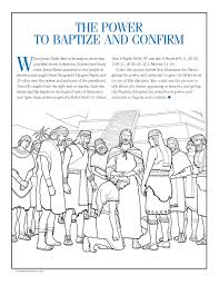 The Power To Baptize And Confirm