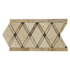 6x12 decorative accents tile the home depot