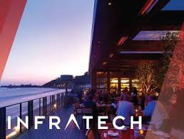 Infratech Infrared Heat Lamp by Infratech Flush Mounted Heaters Are Installed In Nobu Malibu U0027s