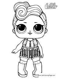 LOL Surprise Dolls Coloring Pages Series 3 Printable