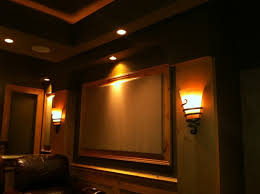 architectural lighting gallery kole digital inside home theater