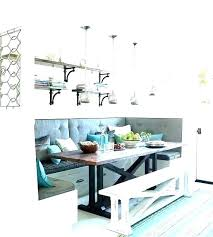 Dining Booth Dimensions Table Restaurant Banquette Seating U Shape