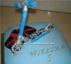 Coolest Homemade Scooter Cakes