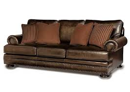 foster bernhardt leather sofa town country leather furniture