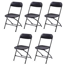 Hercules Resin Folding Chairs by Folding Chairs Black Folding Chair Black Plastic Dev Group