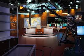 FastFind CBS Newsroom Empty