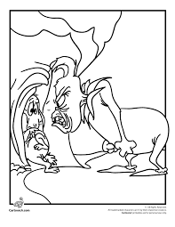 The Grinch And Max Coloring Page