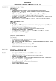 Medical Intern Resume Samples | Velvet Jobs Sample Education Resume For A Teaching Internship Graphic Design Job Description Designer Duties Examples By Real People Actuarial Intern Samples Management Velvet Jobs Pin Resumejob On Resume Student Writing Guide 12 Pdf 2019 16 Best Cover Letter Wisestep Business Analyst College Students 20 Internship Sample Rumes Yuparmagdaleneprojectorg