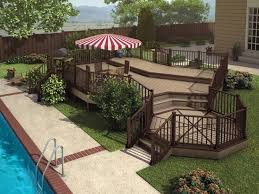 Patio And Deck Combo Ideas by 15 Best Decks Images On Pinterest Deck Patio Patios And Deck Design