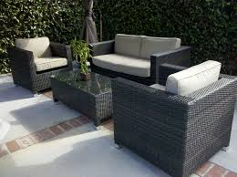 Wayfair Outdoor Patio Dining Sets by Patio Modern Patio Furniture Clearance Grey Rectangle Modern