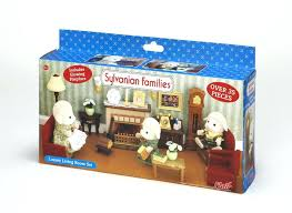 Sensational Families Deluxe Living Room Set Sylvanian Cosy Furniture