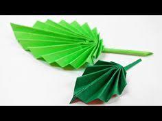 Origami Leaf Paperleaves Diy Design Craft Making Tutorial Easy