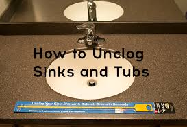 how to unclog a sink or tub drain without chemicals ask anna
