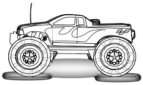 100 Unique Trucks Coloring Pages Free Printable Monster Truck For Kids
